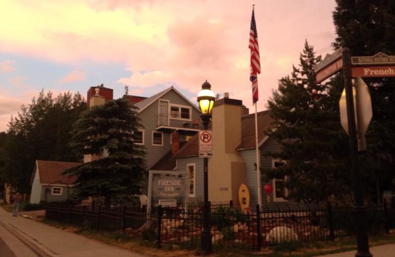 Exterior view of Fireside Inn.