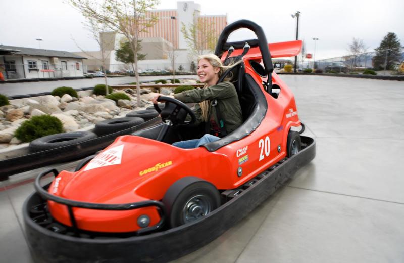 Go cart at Grand Sierra Resort and Casino.