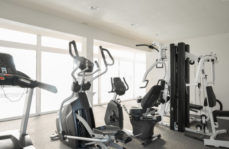 Gym at Lighthouse Oceanfront Resort.