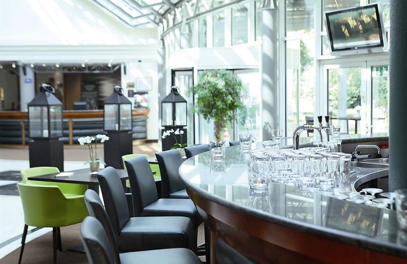 Bar at Lindner Hotel Leipzig.