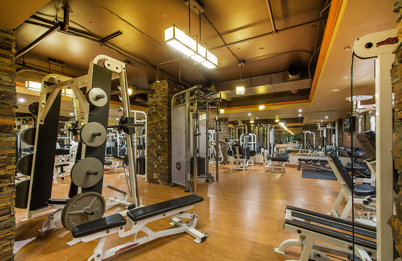 Fitness room at  Padzu Vacation Homes - Park City