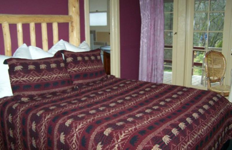Guest room at Sierra Sky Ranch Resort.