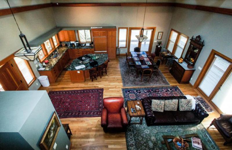 Vacation rental interior at Vacasa Rentals Sunriver.