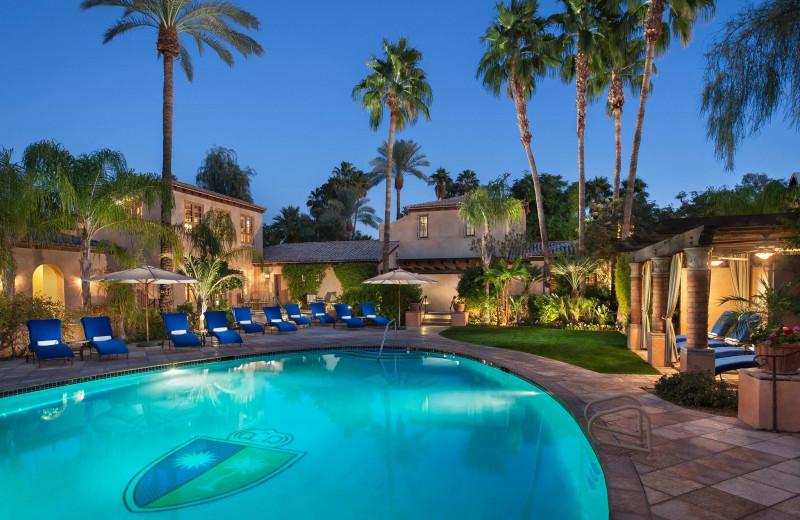 Outdoor pool at Royal Palms Resort and Spa.