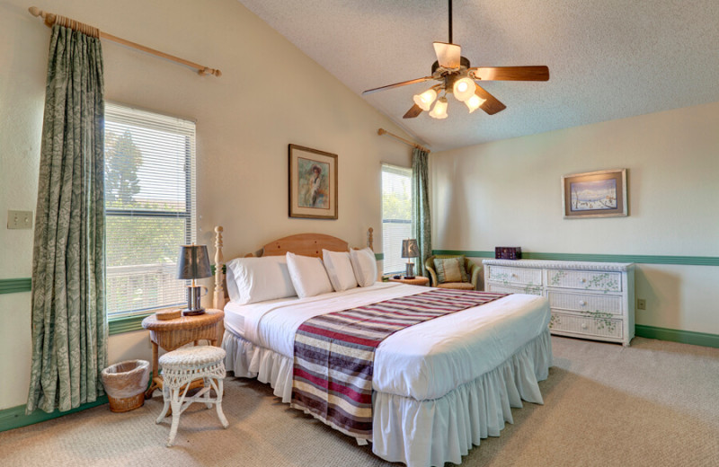 Rental bedroom at Padre Island Rentals.