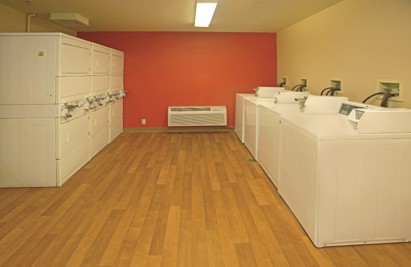 Laundry facilities at Extended Stay America Austin.