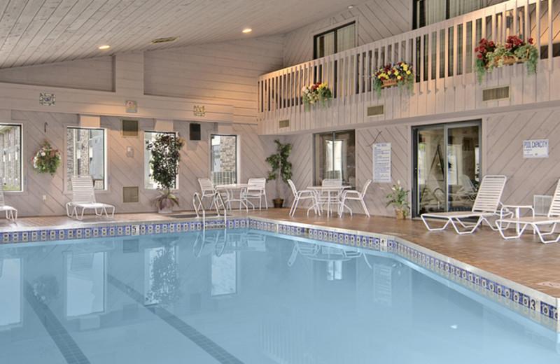Indoor Pool at Ramada Wisconsin Dells