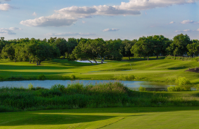 Golf course at Hyatt Regency Hill Country Resort and Spa.