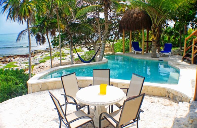 Rental pool at Casa Zama II.