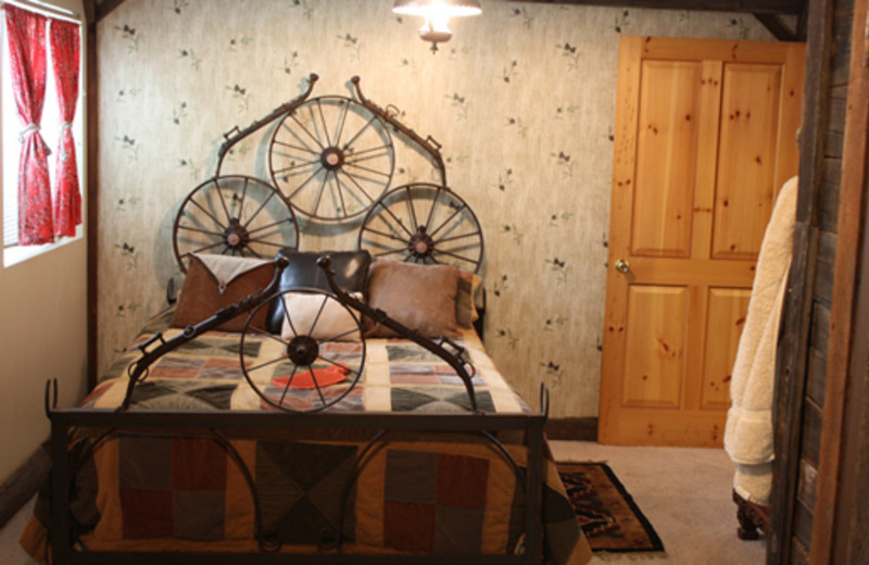 American Cowboy Room at The 1887 Hansen House Bed & Breakfast.