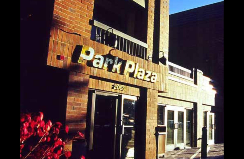 Exterior view of Park Plaza.
