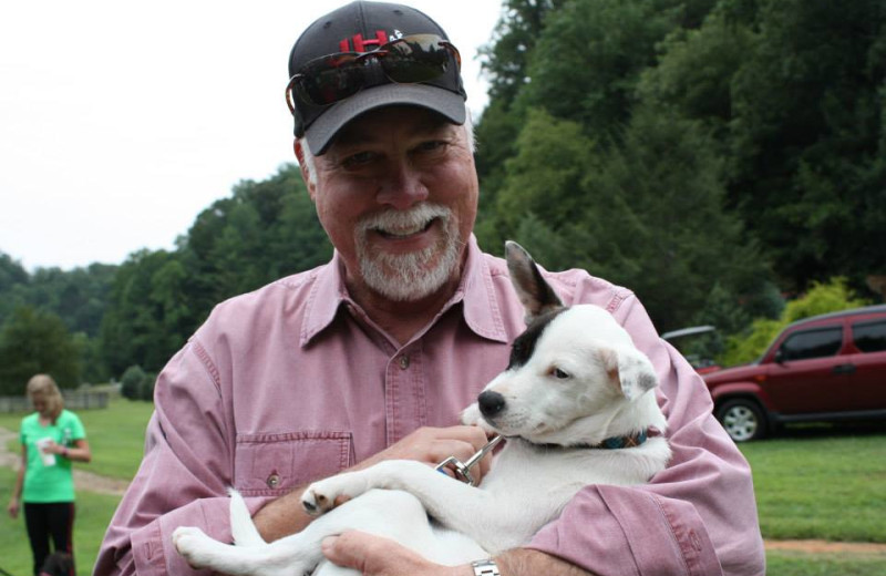 Pets welcome at Leatherwood Mountains Resort.