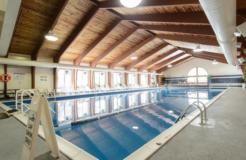 Indoor pool at Best Western Silver Fox Inn.