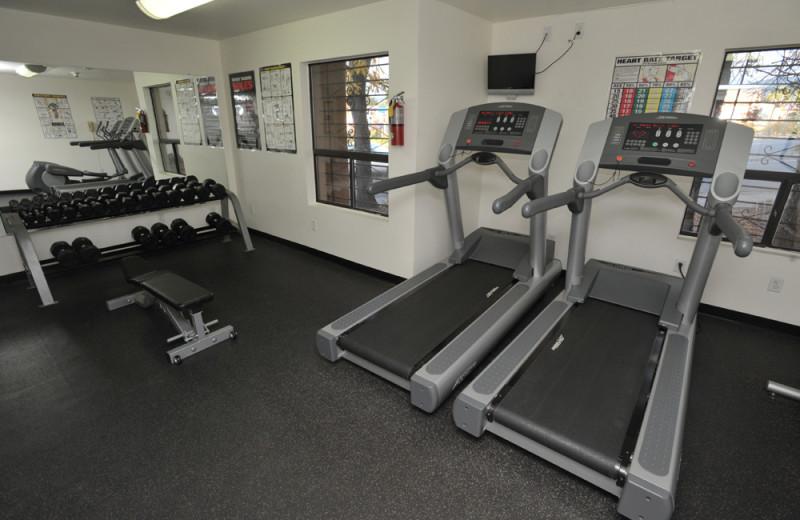 Fitness Room at Santa Fe Sage Inn