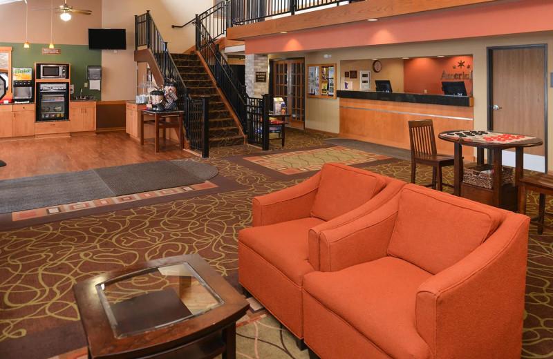 Lobby at AmericInn by Wyndham.