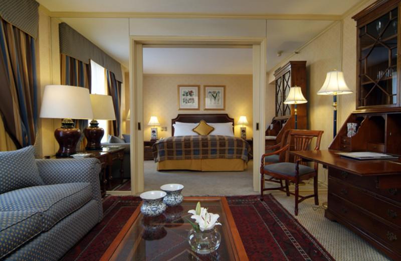 Guest suite at Santiago Park Plaza Hotel.