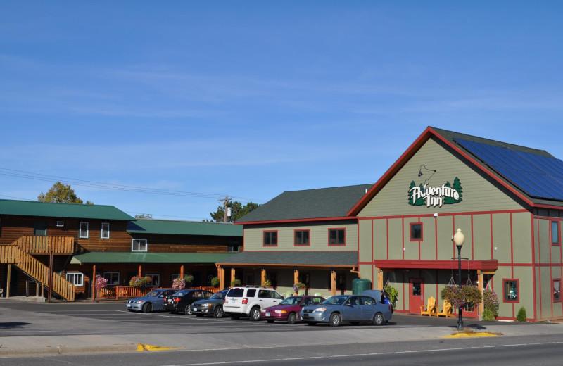 Exterior view of Adventure Inn.