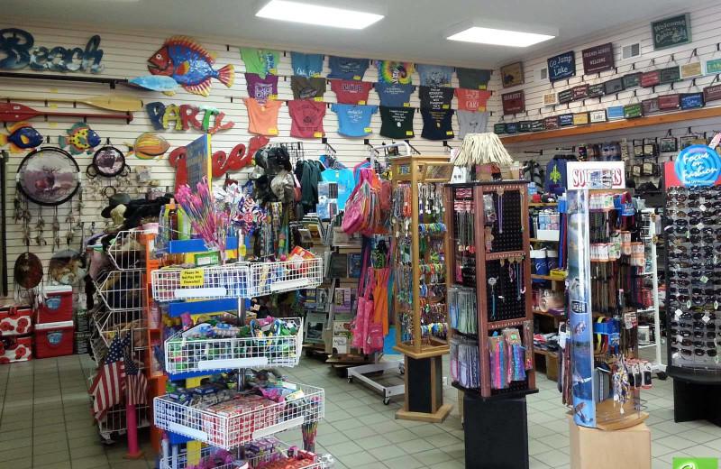 Store at Big Bear Adventures.