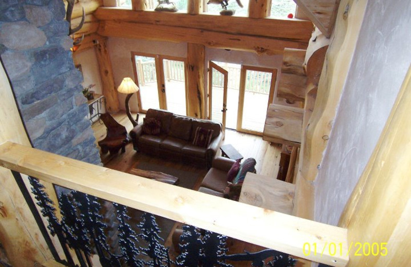 Rental interior at Resort Properties of Angel Fire.