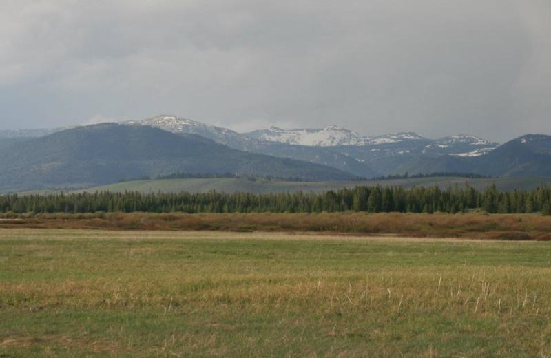 Area Surrounding Yellowstone Under Canvas