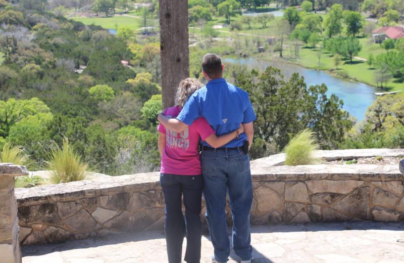 Couple at Mo-Ranch.