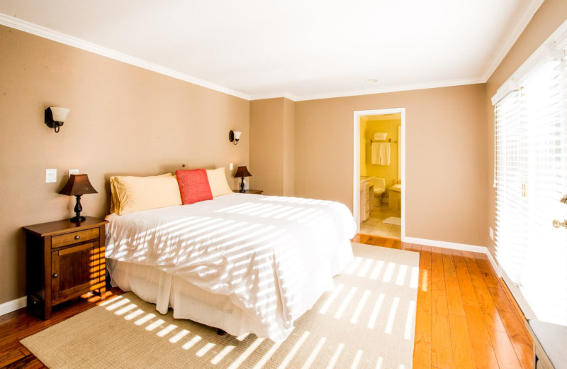 Rental bedroom at Woodfield Properties.