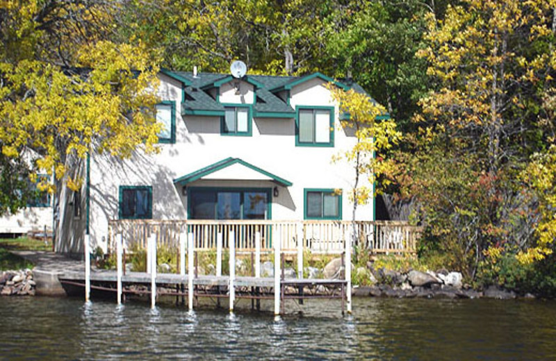 Cottage Exterior at Whispering Winds Resort