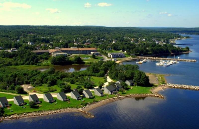 Aerial View of Atlantica Hotel