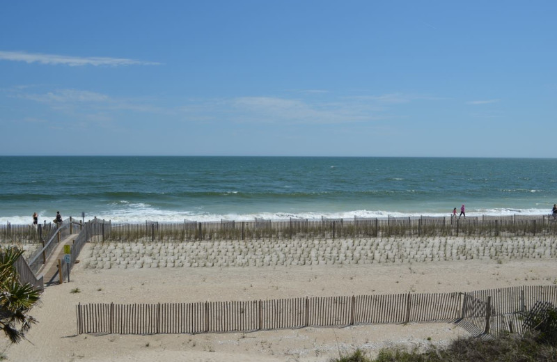 The beach at Century 21 Action Inc.