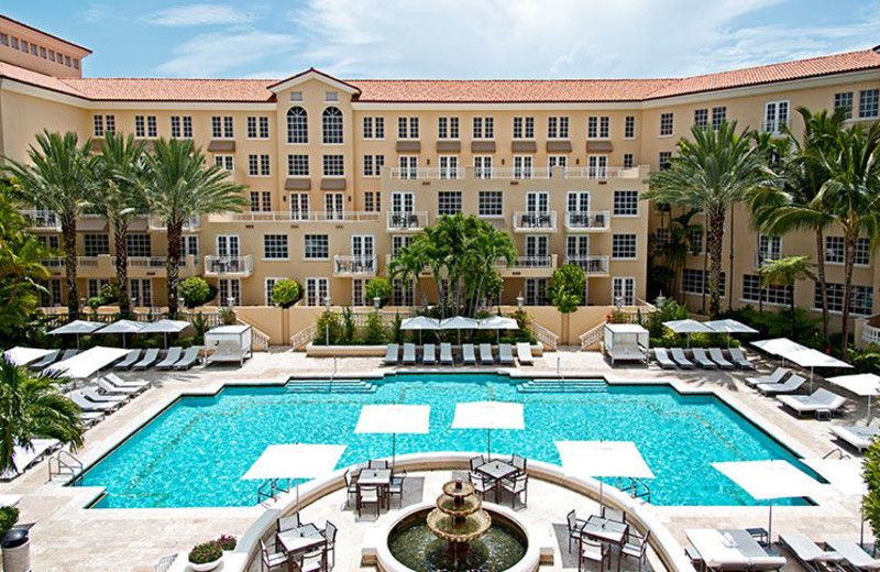 Swimming Pool at Turnberry Isle Miami