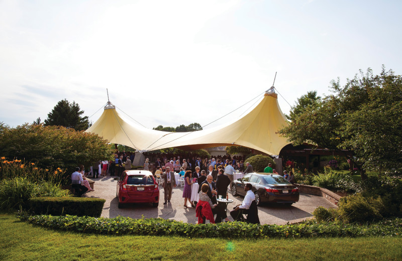 Event tent at Grand Traverse Resort and Spa.