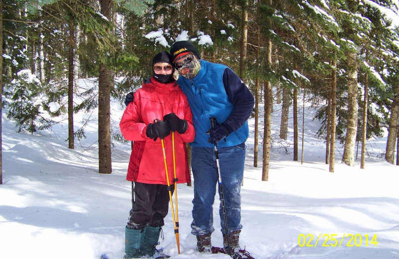 Skiing at White Birch Village Resort.