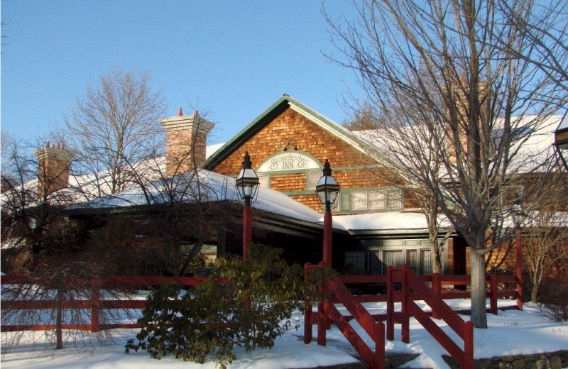 Winter at Stonehedge Inn and Spa.