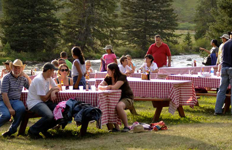 Picnic at 320 Guest Ranch.