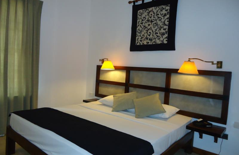 Guest room at Tamarind Tree hotel.