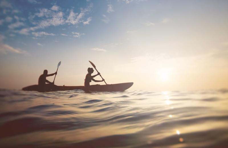Canoeing at Sanibel Vacations.