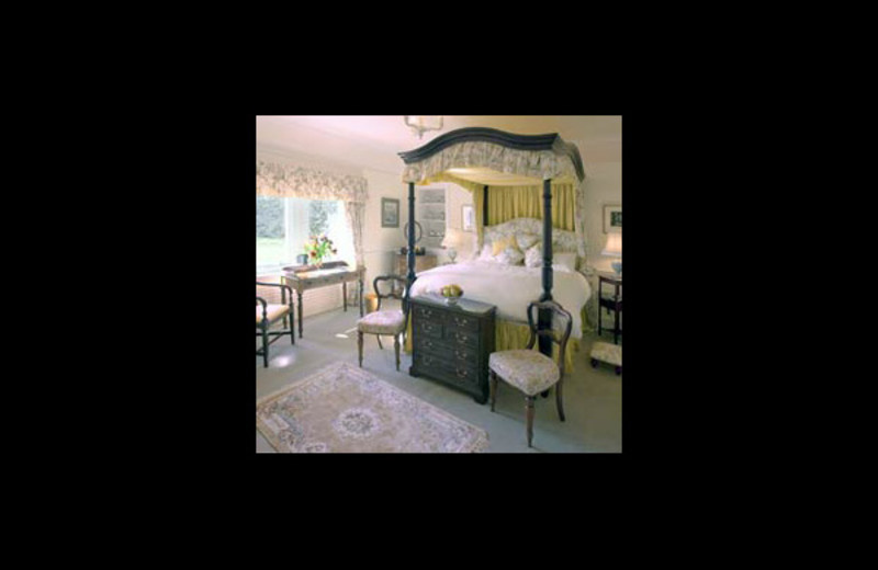 Guest room at Ladyburn.