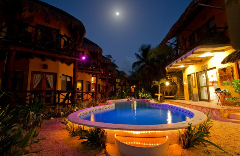 Exterior view of Holbox Collection Hotels.