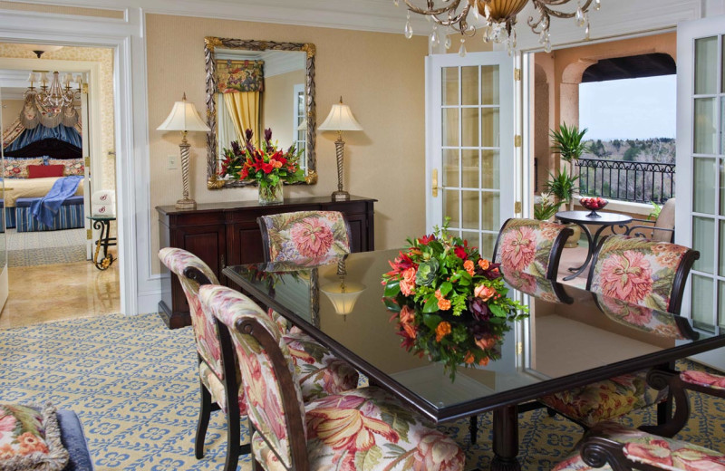 Guest dining room at The Broadmoor.