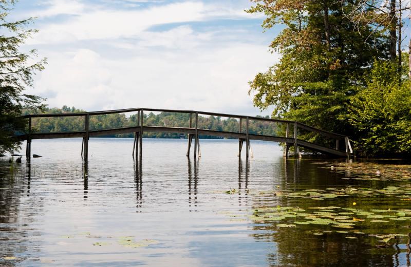 Bridge at Eagles Mere Inn.