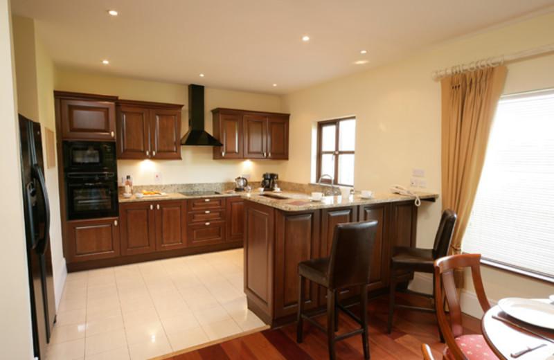 Kitchen at Adare Manor Limerick.