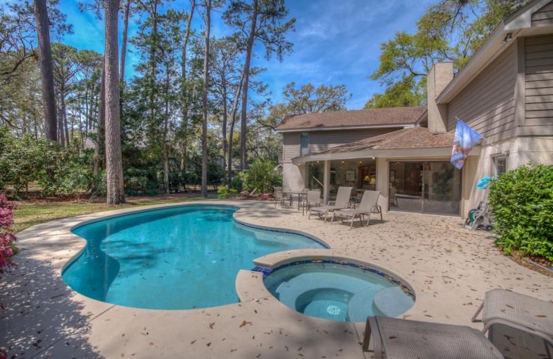 Rental pool at Vacation Rental Pros - Hilton Head Island.