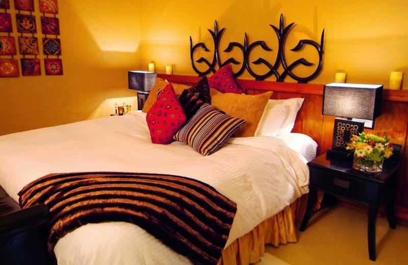 Guest room at Benmiller Inn.