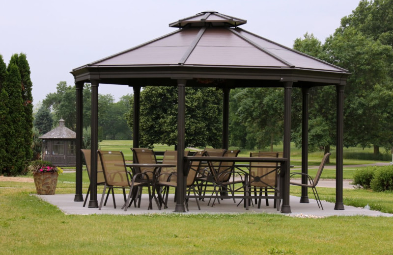 Gazebo at Coachman's Golf Resort.