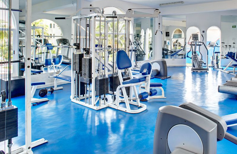 Fitness Center at Barcelo Costa Cancun