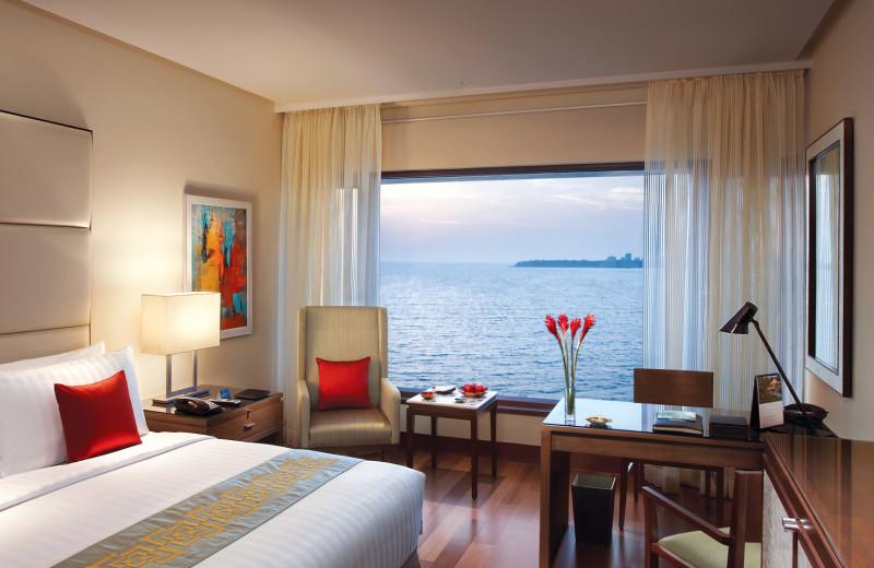 Guest room at The Oberoi Mumbai.