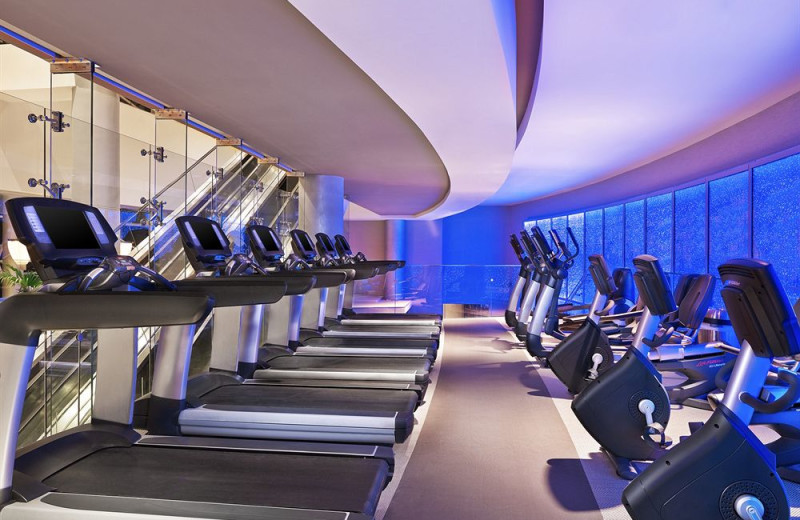 Fitness room at The Westin Diplomat Resort.