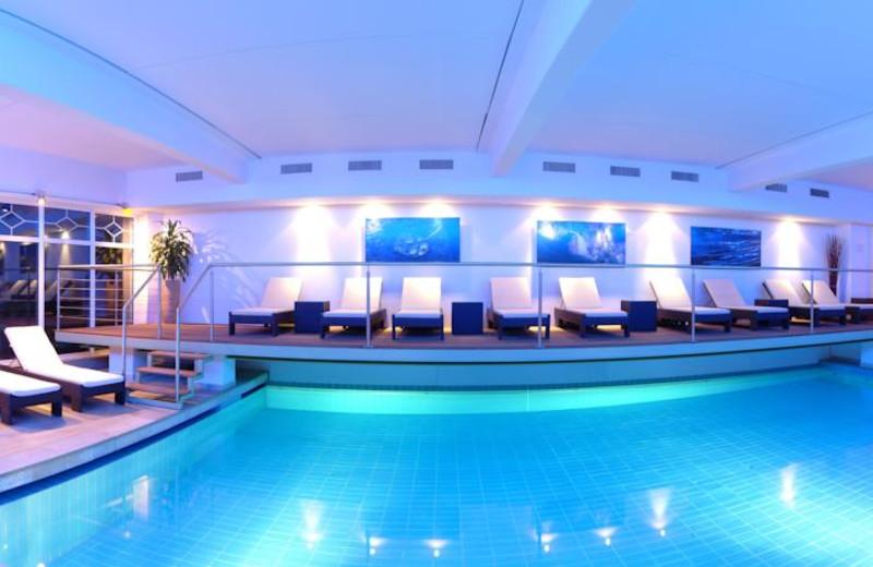 Indoor pool at Klammer's Kärnten.