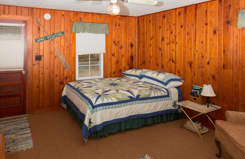 Bedroom in Cabin at His Place Resort