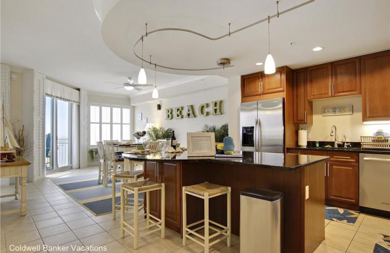 Rental kitchen at CBVacations.com
